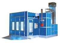 Cabina de pulverizacion automotriz SBA 600 - Pinturas Clavel