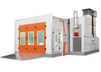 Cabina de pulverizacion automotriz SBA 800 - Pinturas Clavel
